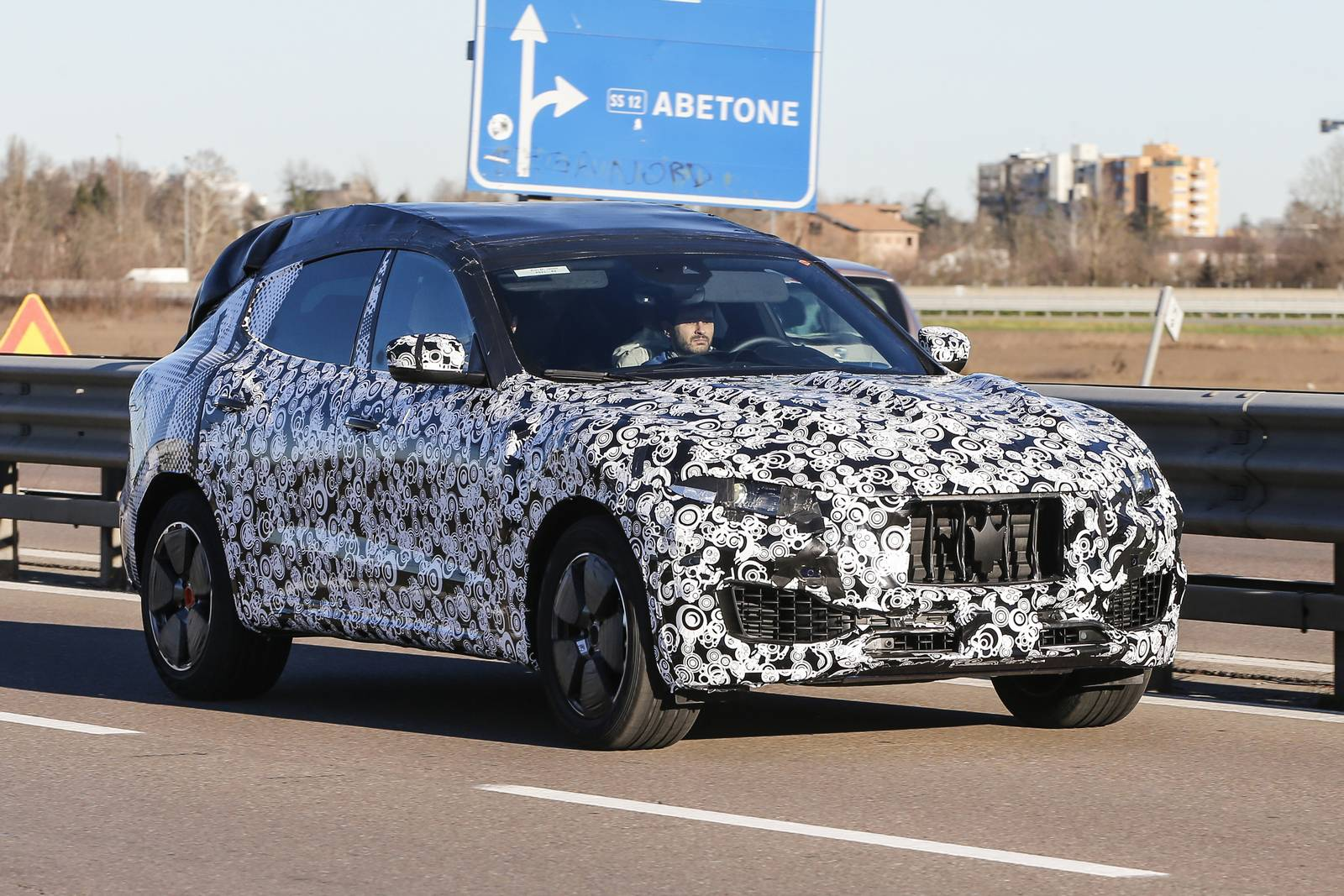 Upcoming Maserati Levante Spied in Italy and Sweden