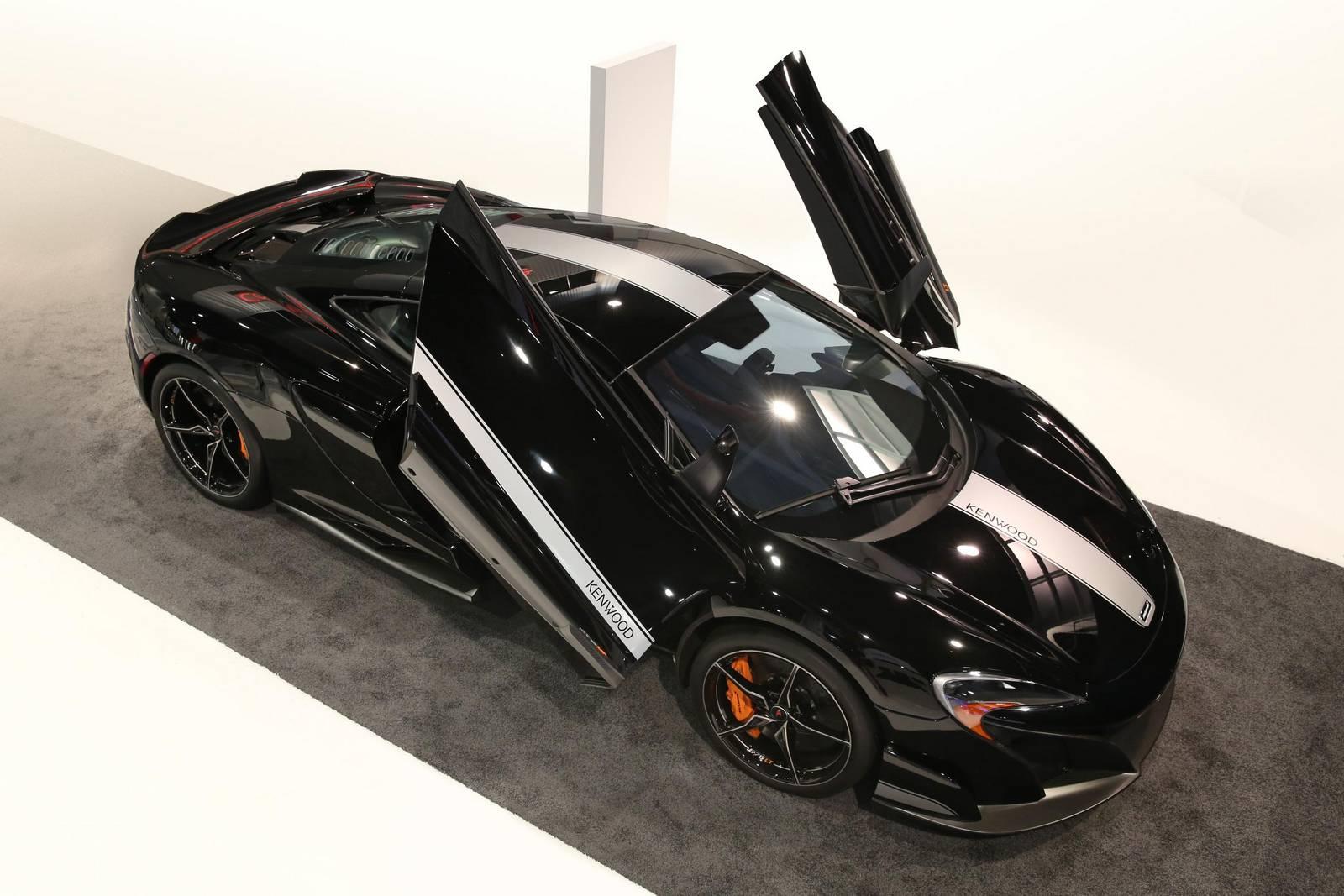 Official: McLaren 675LT JVCKENWOOD Concept