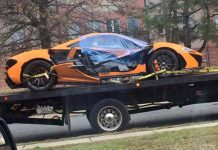 McLaren P1 Crash Washington DC