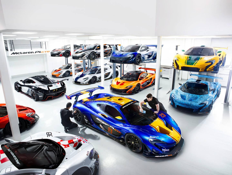 Insane McLaren P1 GTR Workshop!