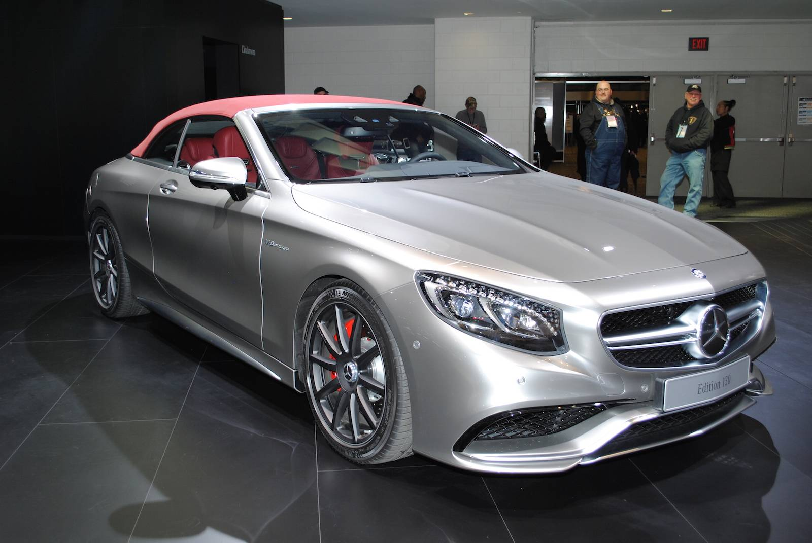 detroit 2016 mercedes amg s63 cabriolet edition 130 gtspirit. Black Bedroom Furniture Sets. Home Design Ideas