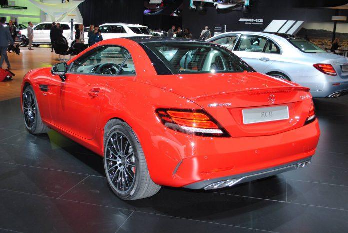 Mercedes-AMG SLC 43 rear