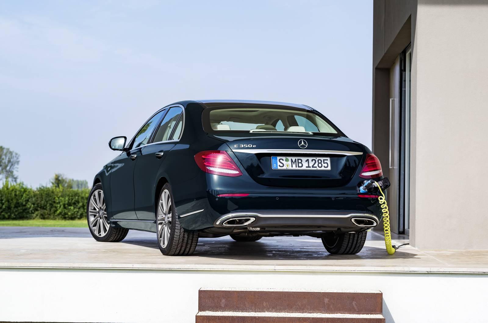 2017 Mercedes-Benz E-Class Rear