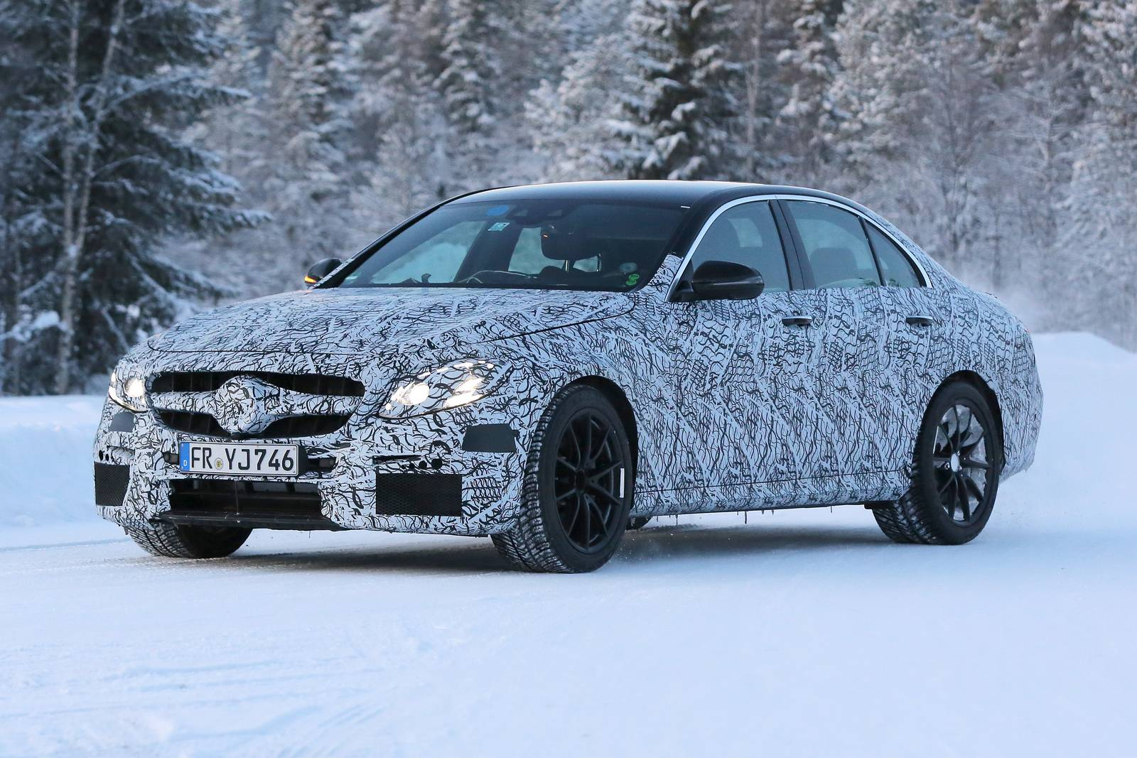 2017 Mercedes-AMG E 63 Spy Shots