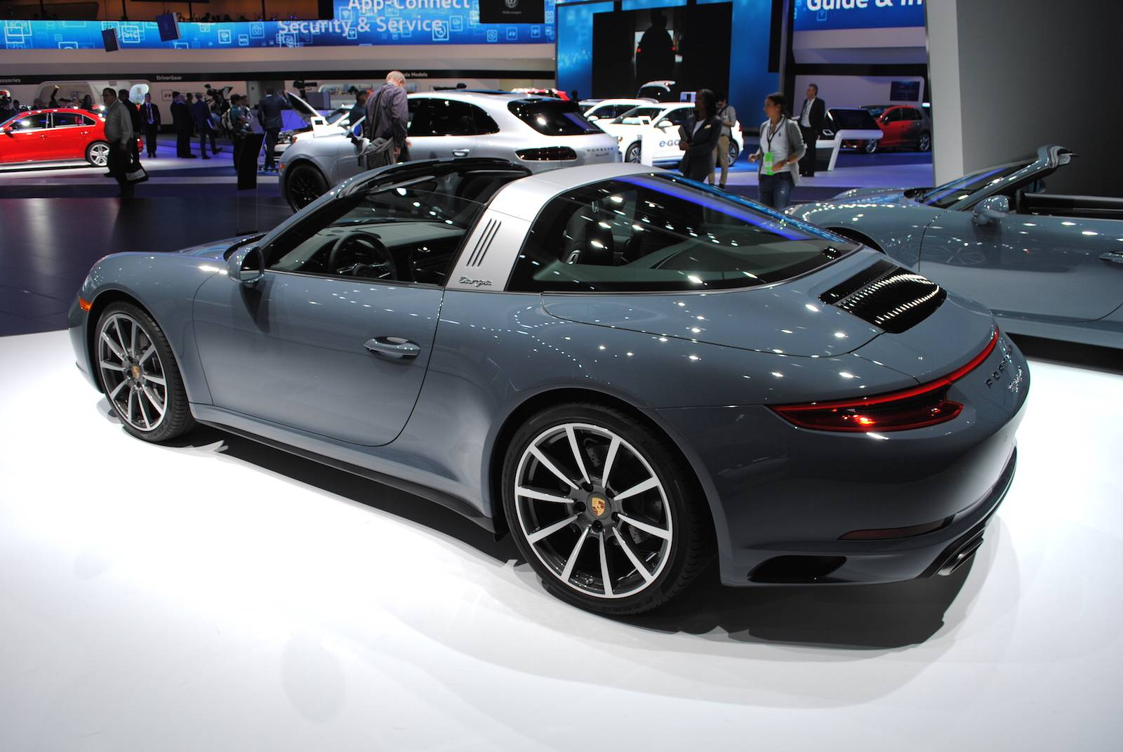 Detroit 2016 Porsche 911 Targa 4 Gtspirit