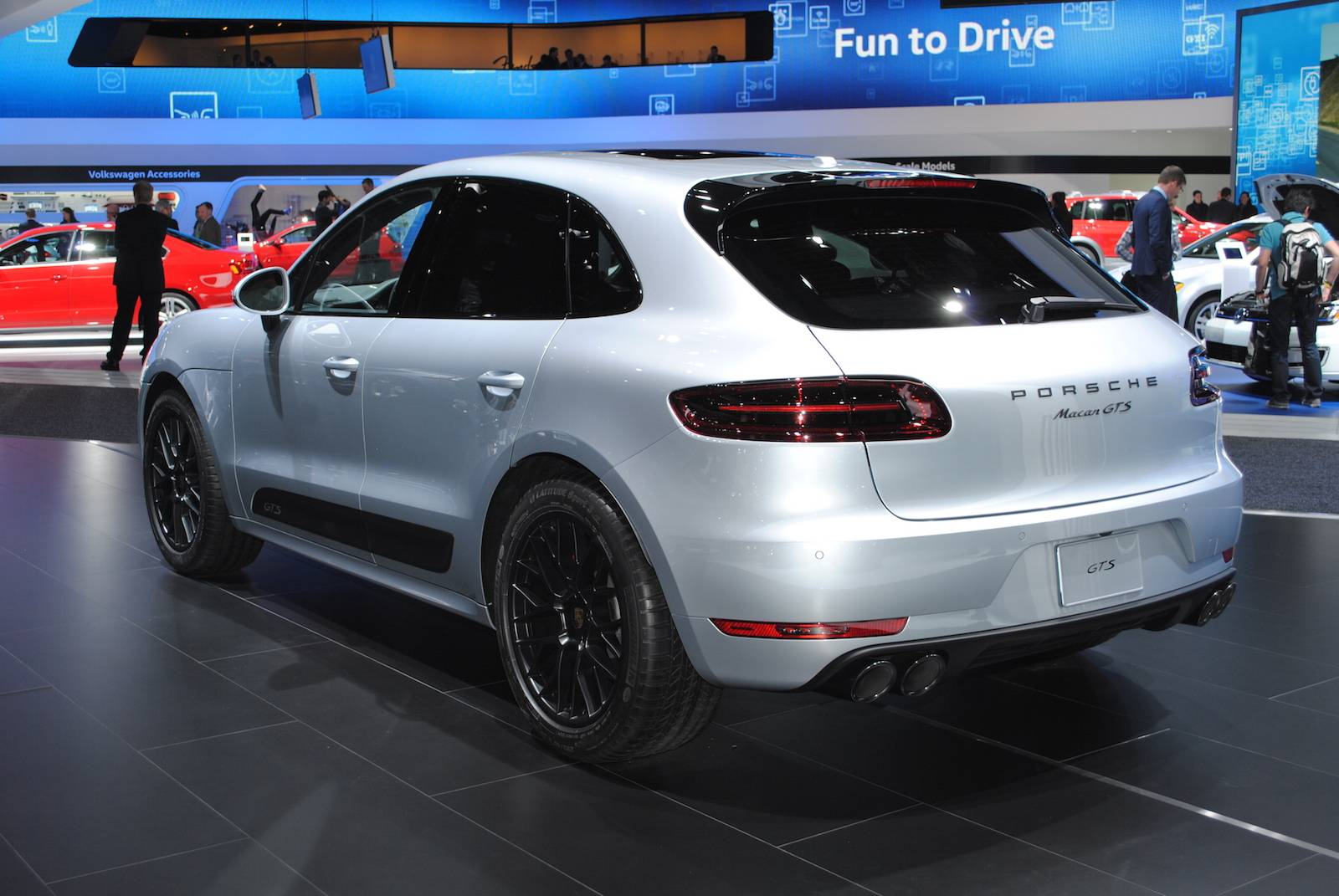 Beautiful Detroit 2016 Porsche Macan GTS  GTspirit