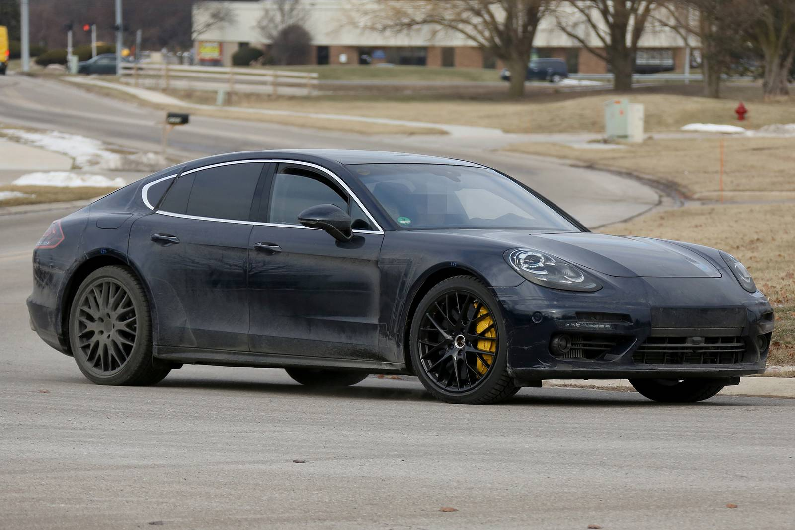 2017 Porsche Panamera First Interior Spy Shots Gtspirit