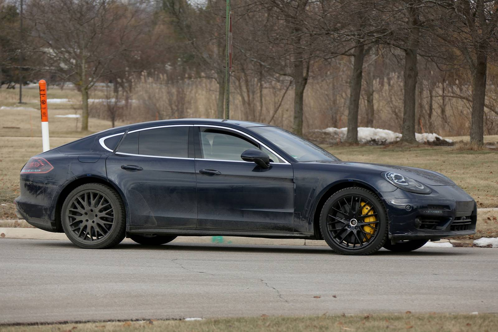 2017 Porsche Panamera First Interior Spy Shots - GTspirit