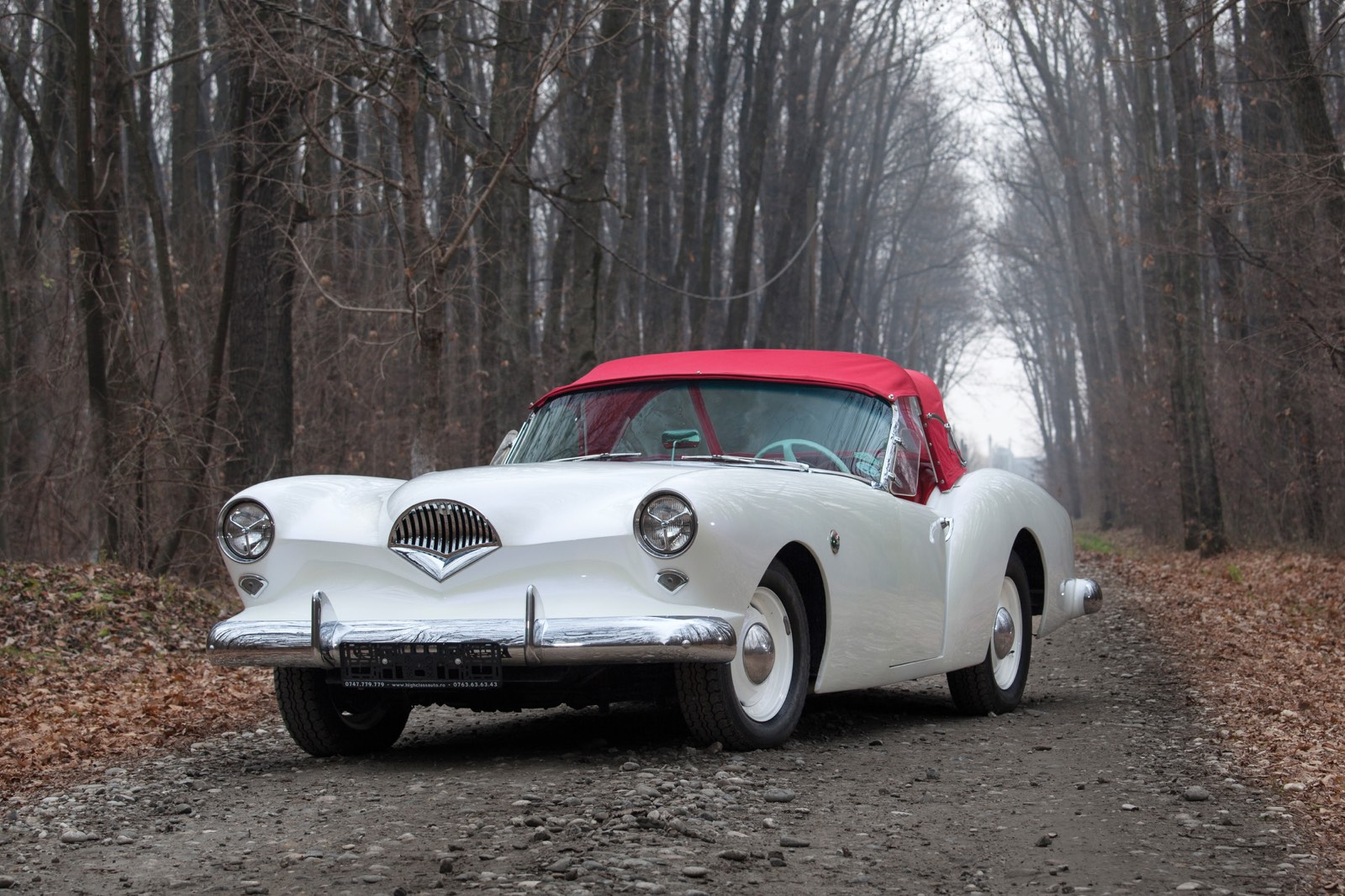 Kaiser-Darin Roadster Front Grille