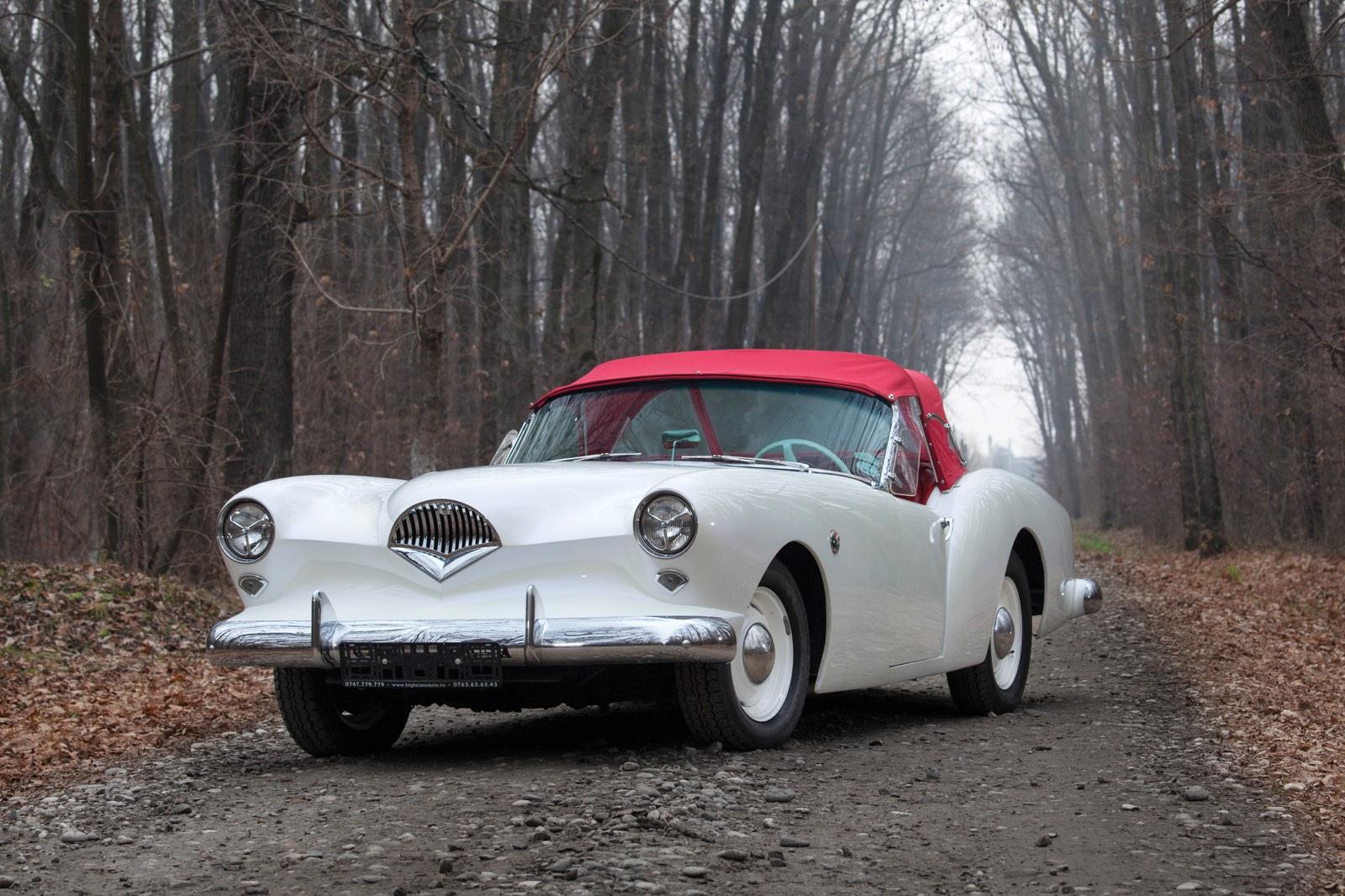 Kaiser-Darin Roadster Front Grille