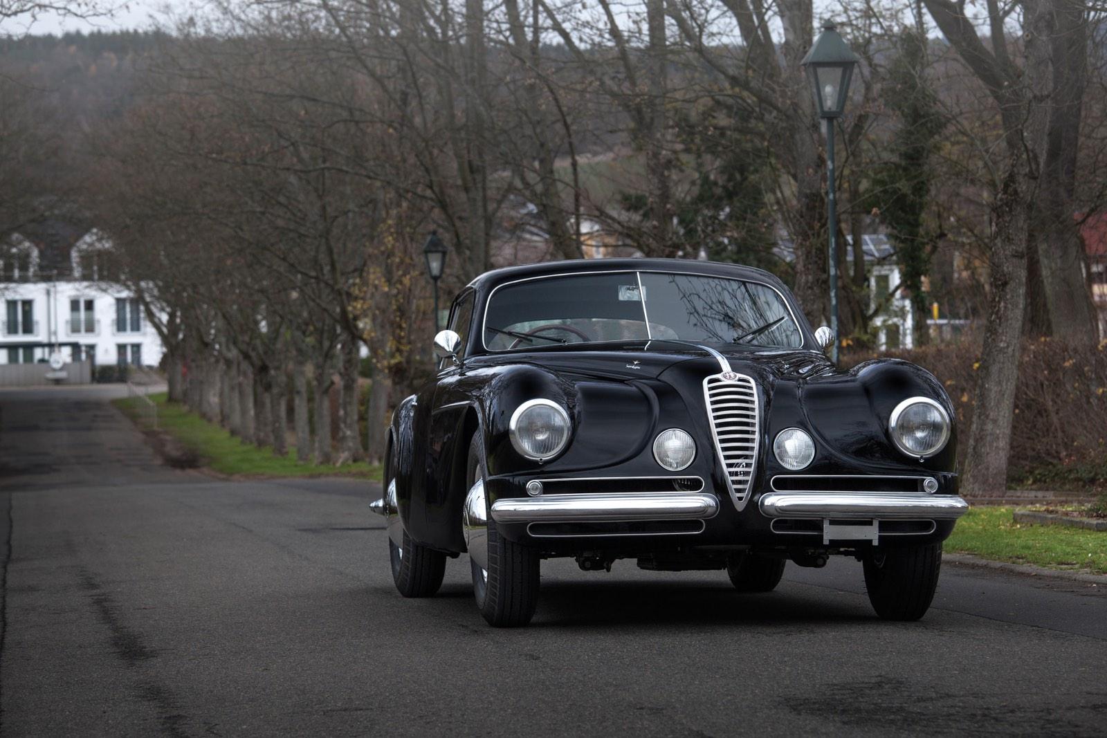 Alfa Romeo 6C 2500 SS Villa d'Este Coupé by Touring