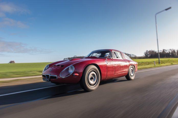 Alfa Romeo Giulia Tubolare Zagato Front