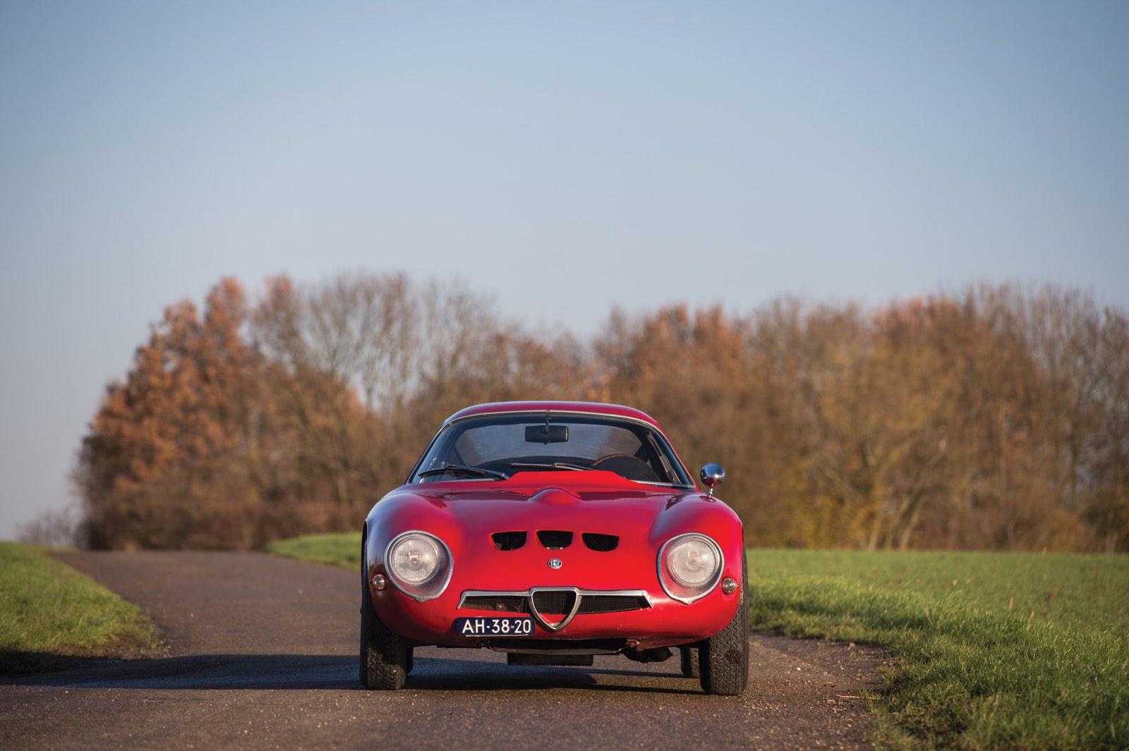 Alfa Romeo Giulia Tubolare Zagato Unrestored