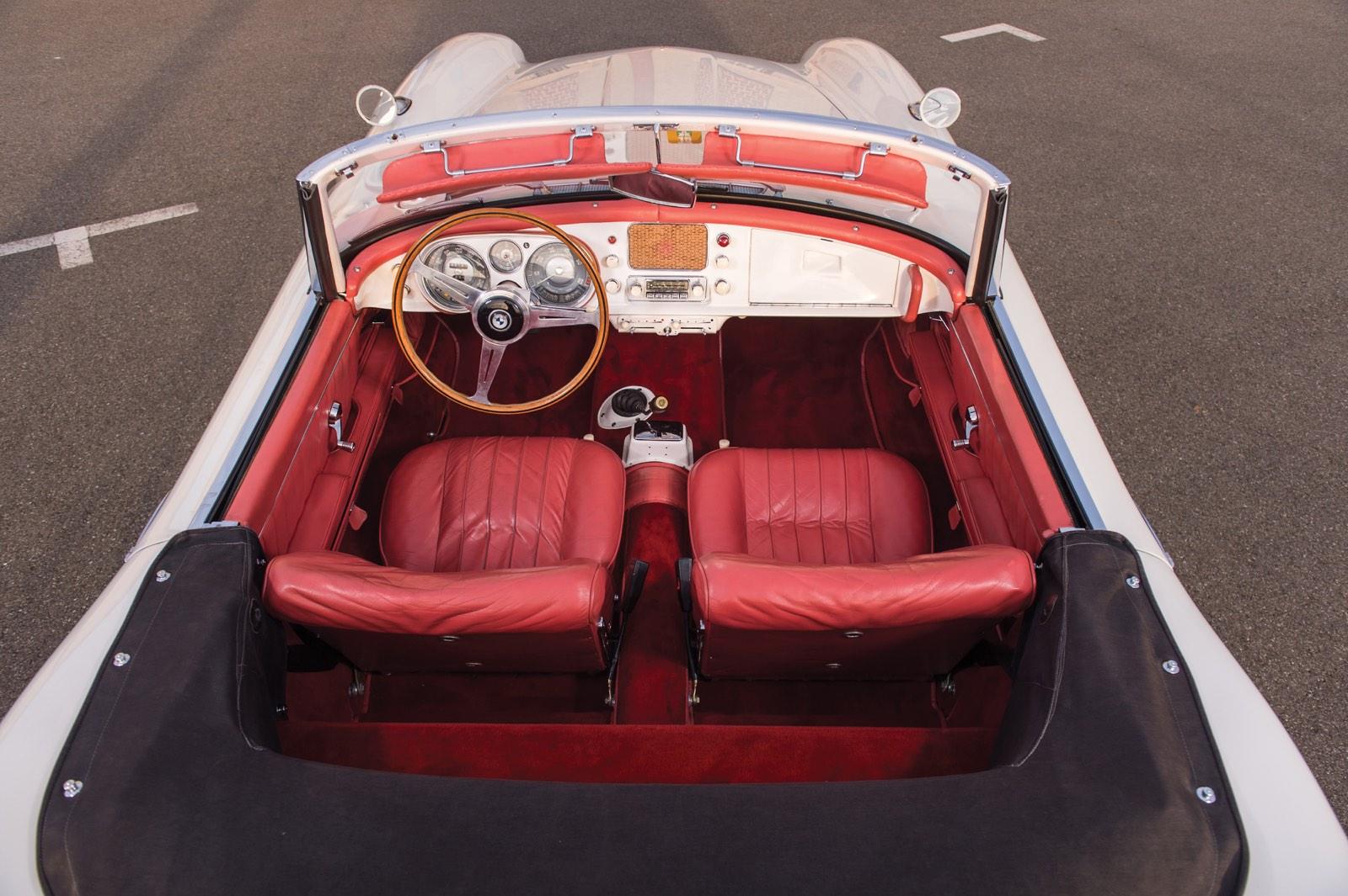 Interior BMW 507 Roadster