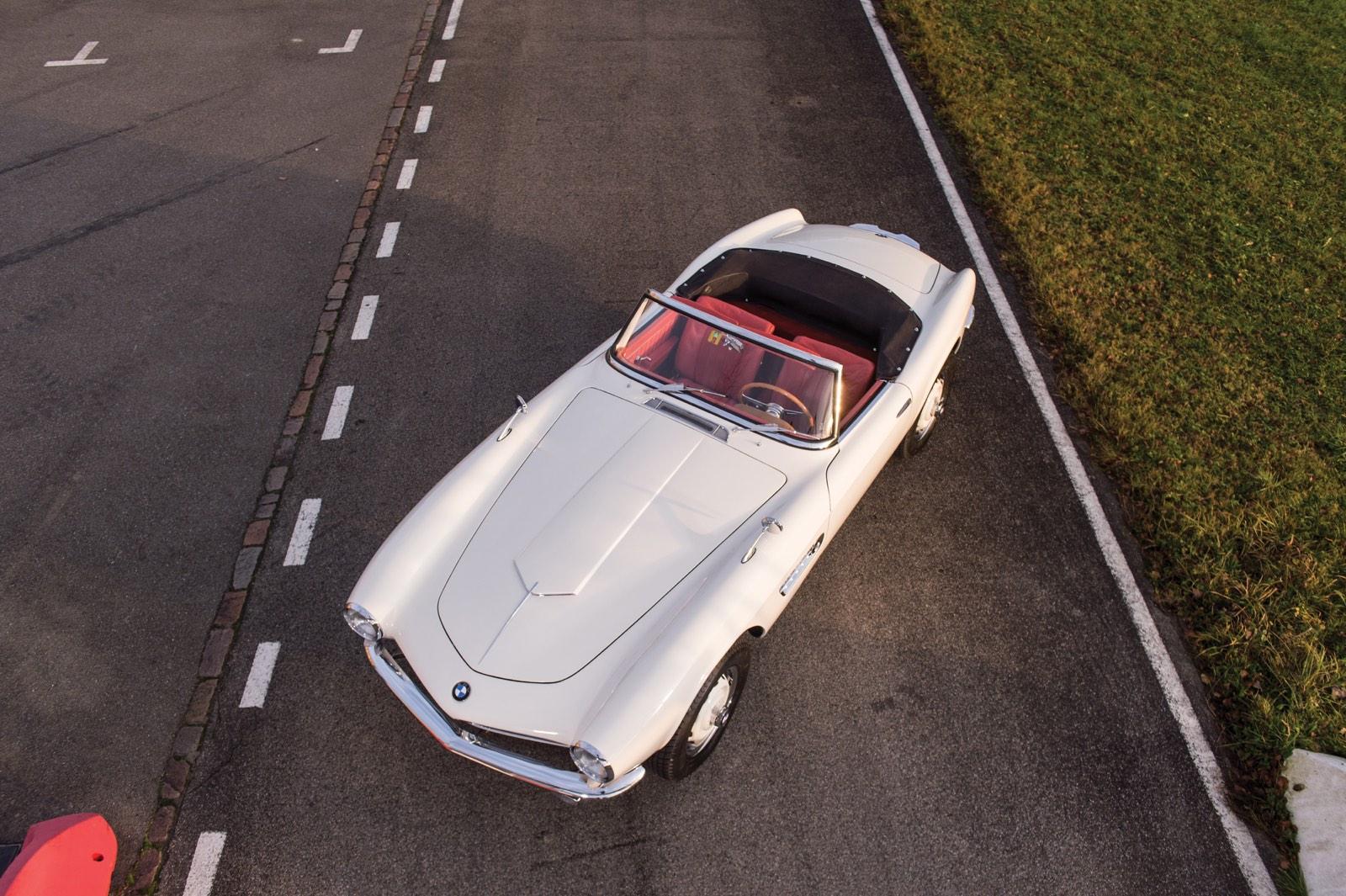 BMW 507 Roadster Series II Top View