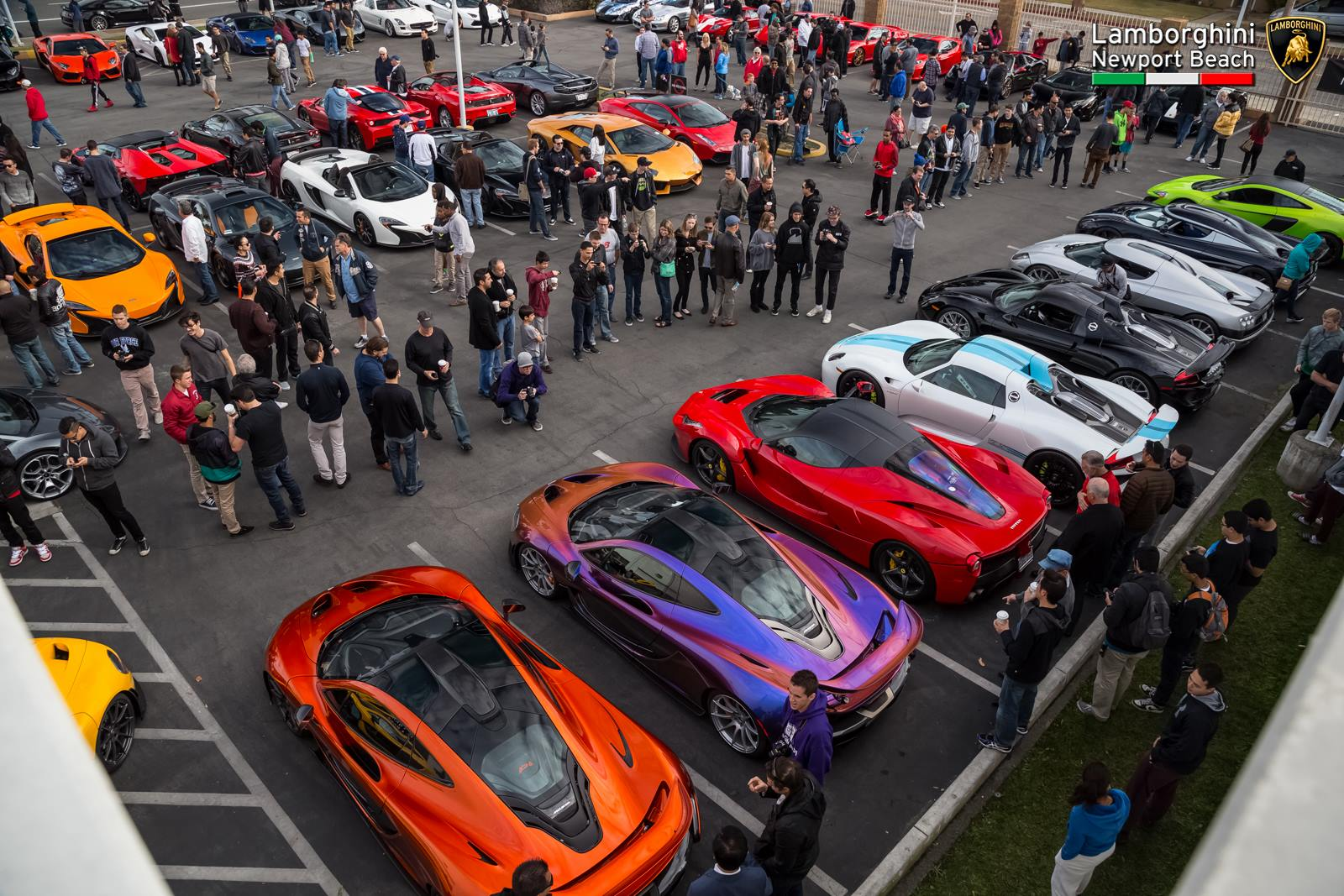 Lamborghini Newport Beach Kicks Off 2016 With Supercar Orgy Gtspirit