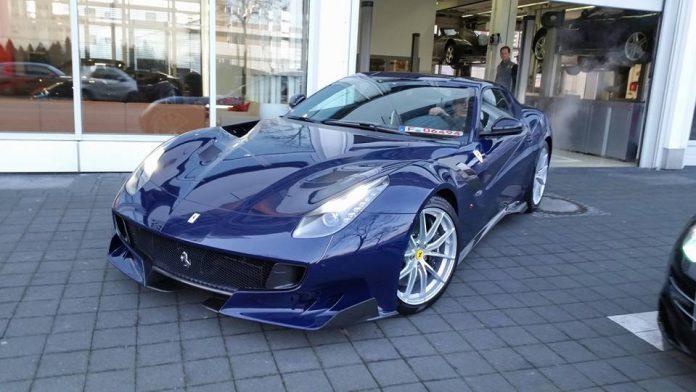 TDF Blue Ferrari F12tdf  (Photo by: Daniel Gogolok)