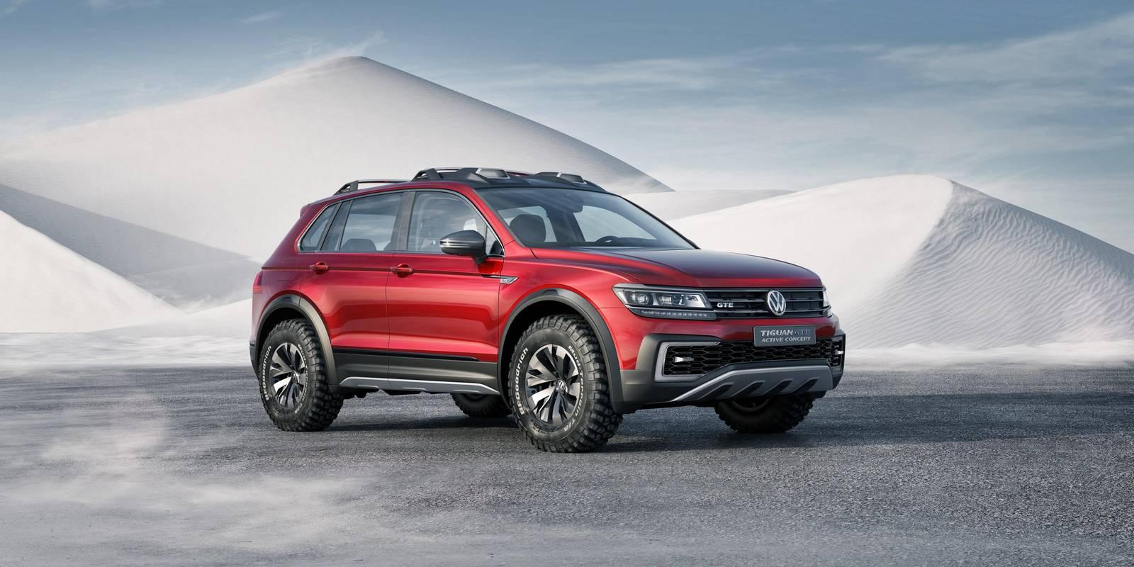 Official: Volkswagen Tiguan GTE Active Concept