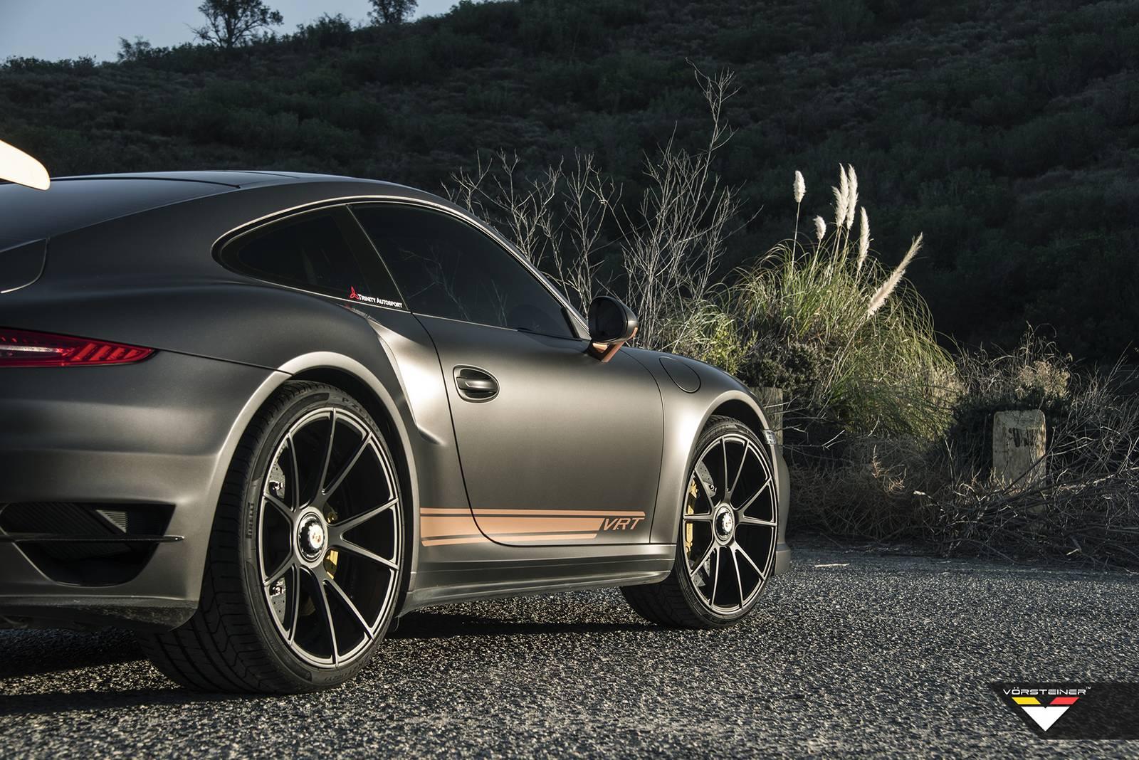 Porsche 718 Cayman S >> Stunning Vorsteiner V-RT Edition Porsche 911 Turbo S ...