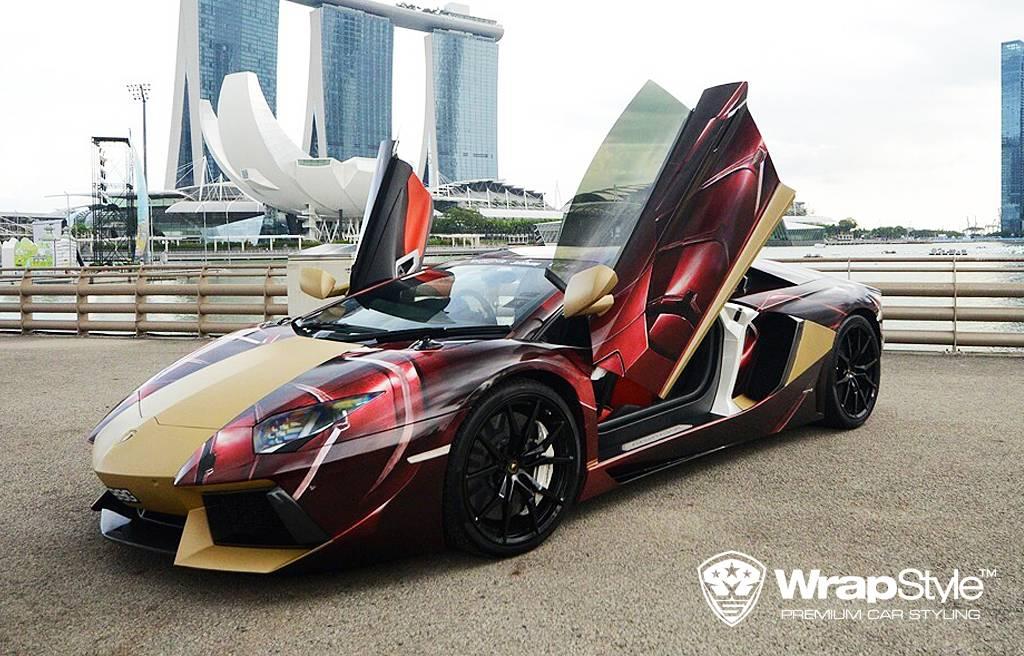 Permalink to Lamborghini Aventador Wrapped