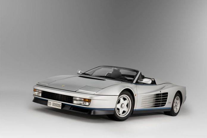 116 1986 Ferrari Testarossa Spider Valeo