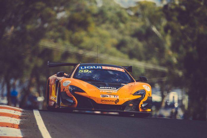 #59 Tekno Autosorts McLaren 650S GT3 at the 2016 Bathurst 12 Hour