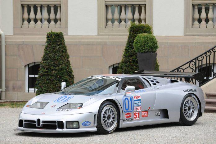 212 1995 Bugatti EB110 SS  Sport Competizione - Le Mans