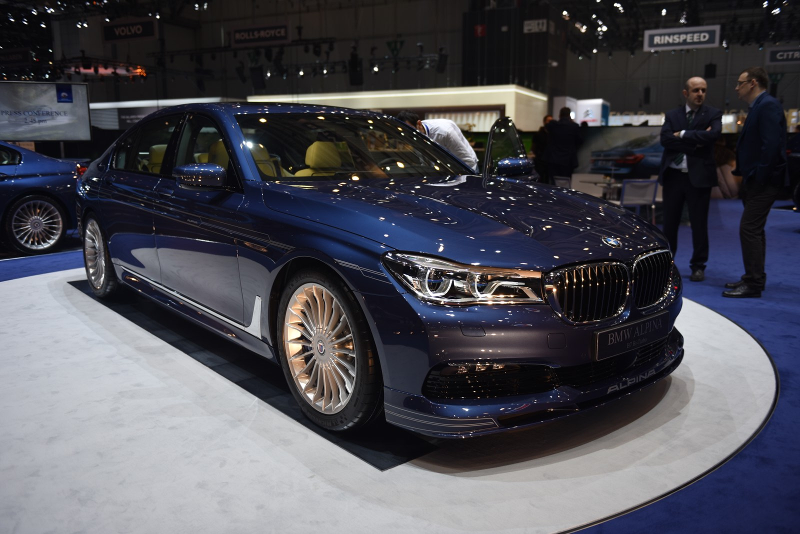 Alpina B7 at Geneva Motor Show 2016