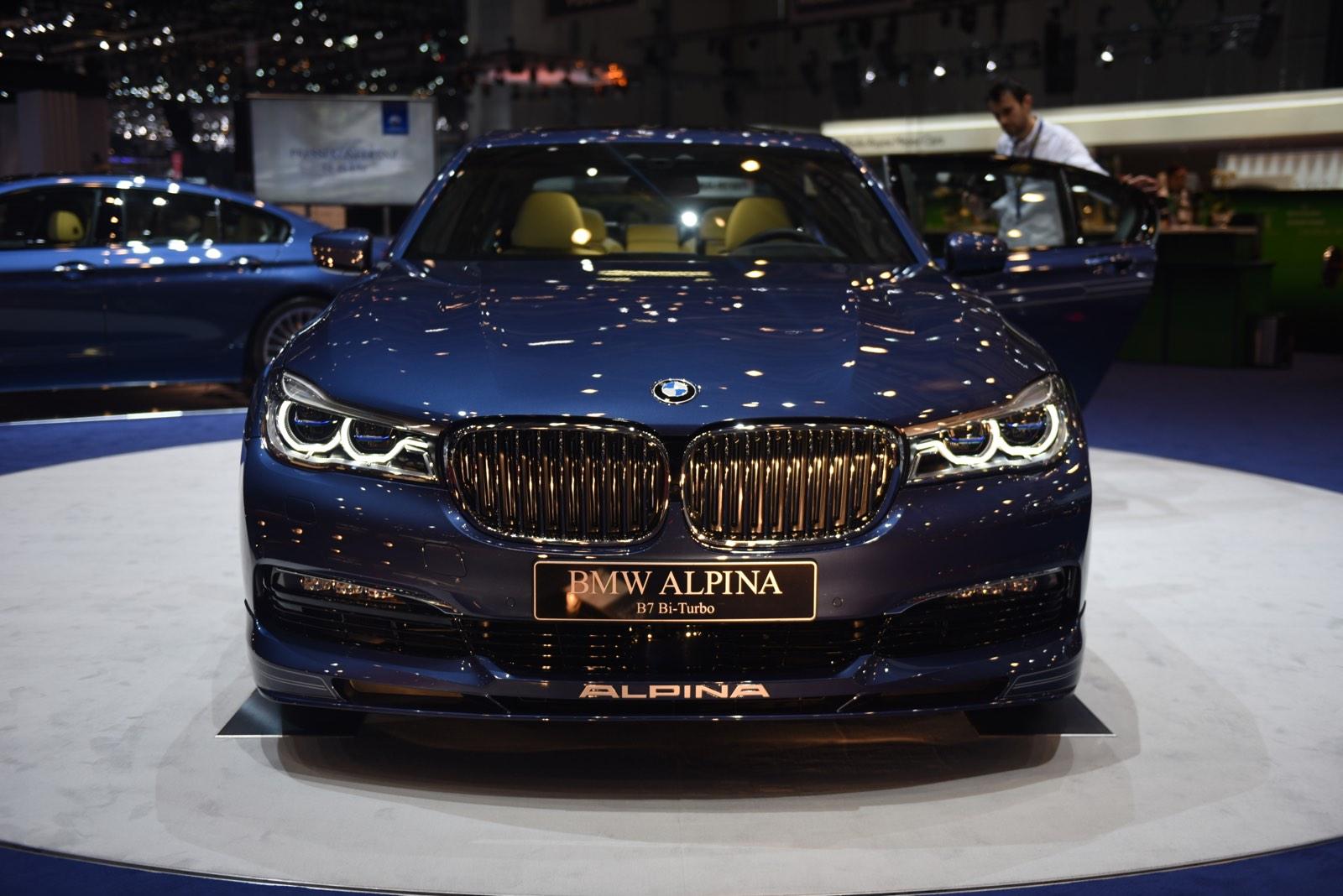 Alpina B7 at Geneva Motor Show 2016