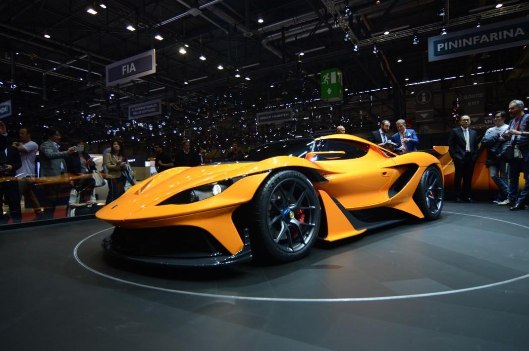 Apollo Arrow at Geneva Motor Show 2016