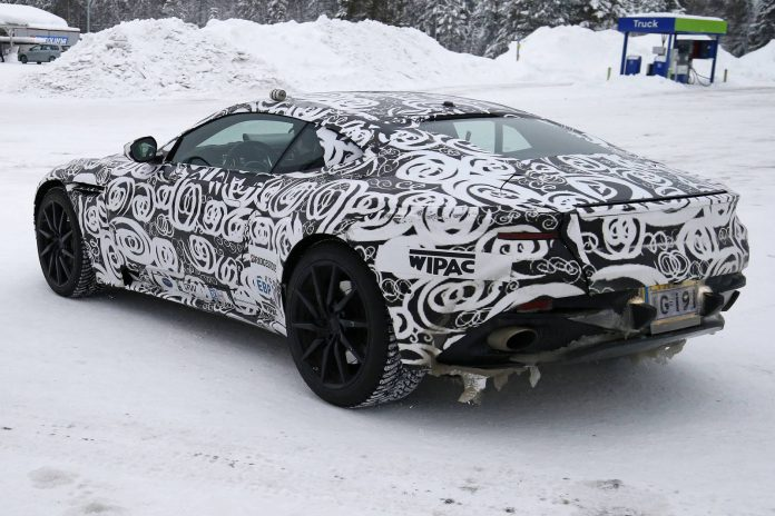 Aston Martin DB11 spy shots