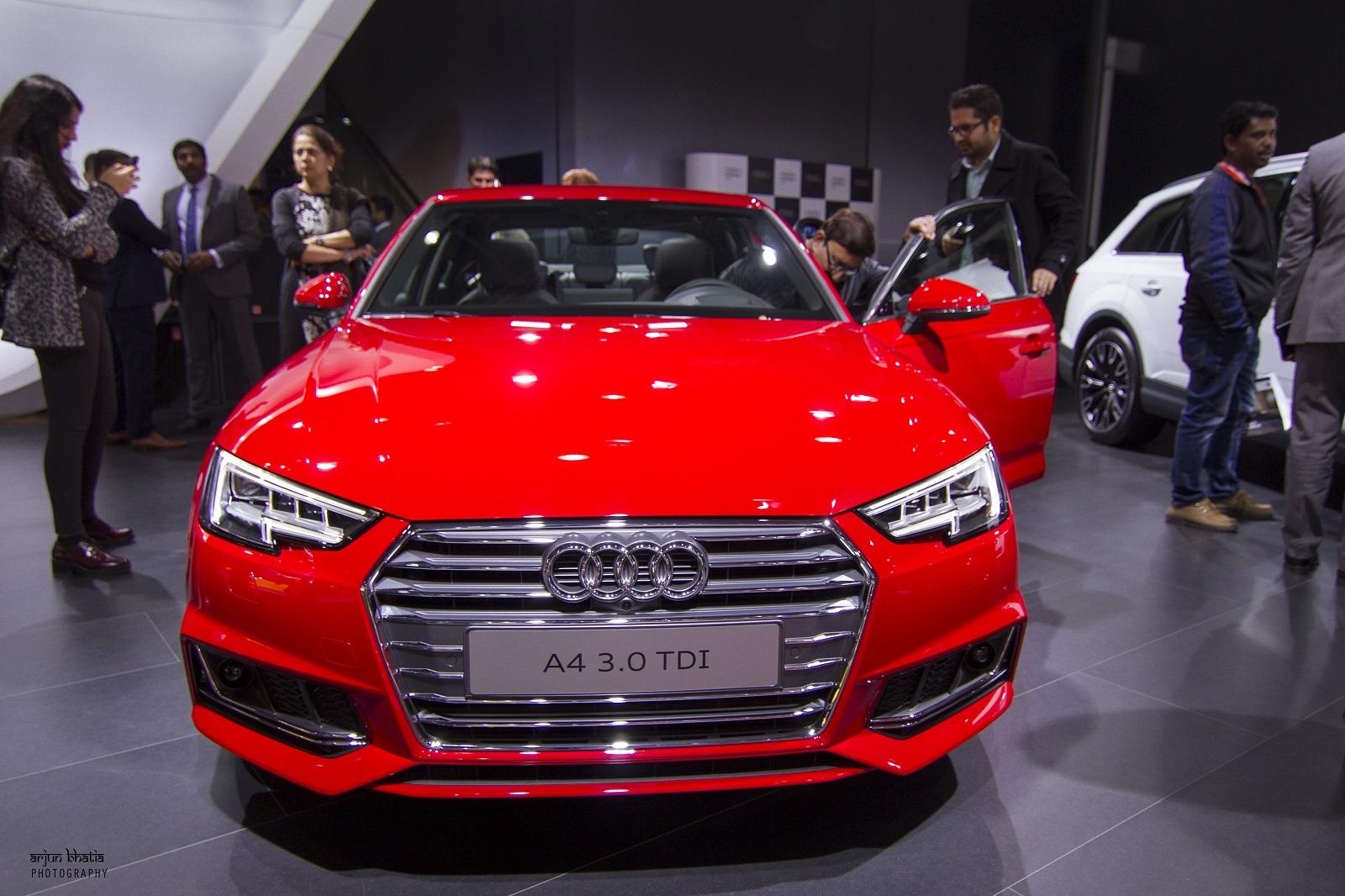 Audi A4 Delhi Auto Expo 2016 1