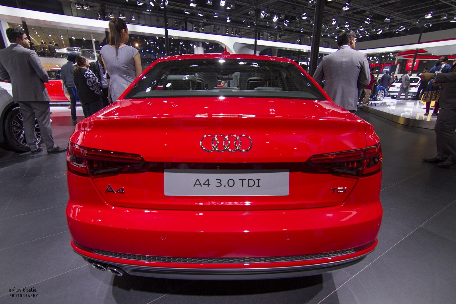 Audi A4 Delhi Auto Expo 2016 2