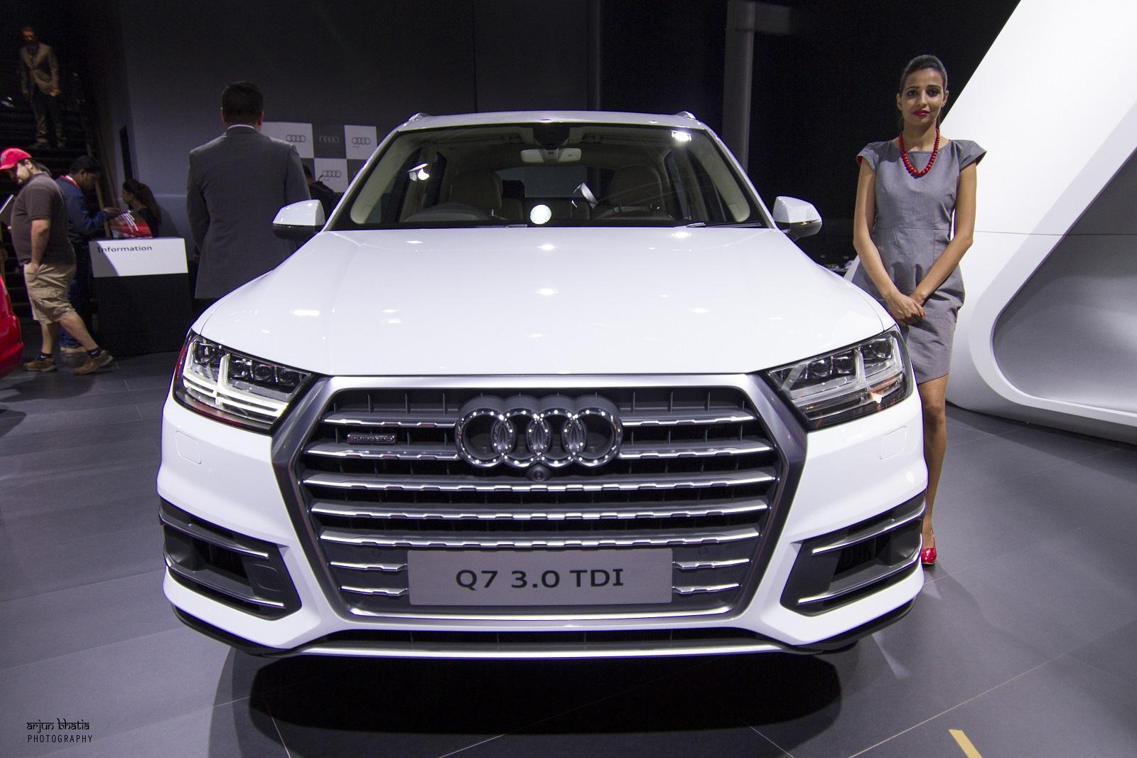 Audi Q7 Delhi Auto Expo 2016 1