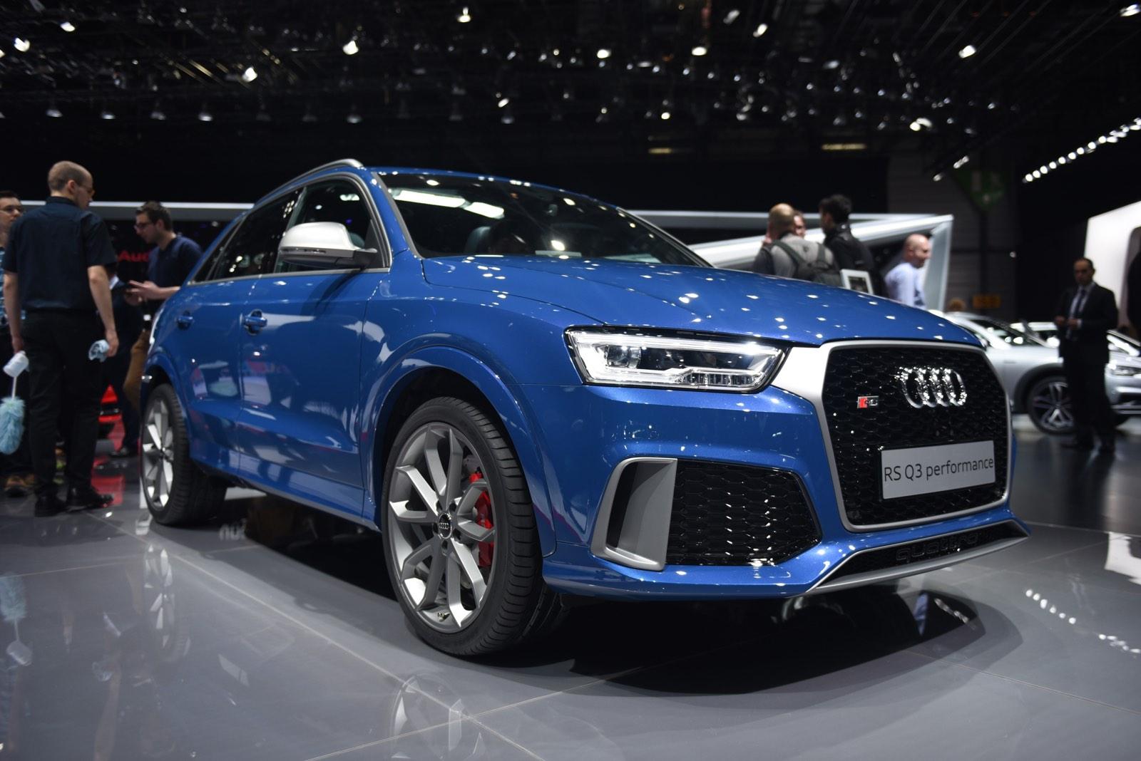 Audi Q3 RS Performance at Geneva 20161