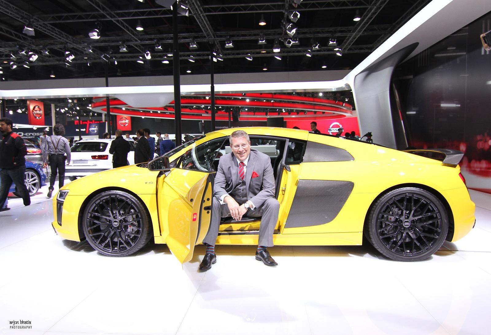 Audi R8 V10 Plus Delhi Auto Expo 2016 4