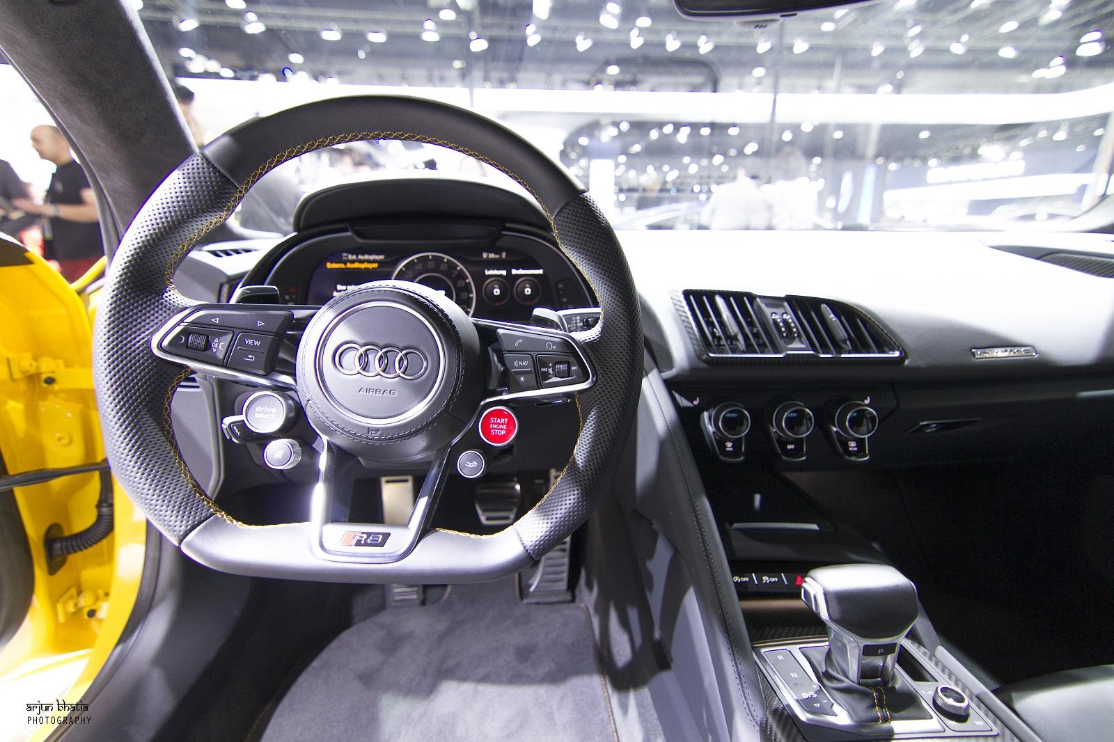 Audi R8 V10 Plus Delhi Auto Expo 2016 5