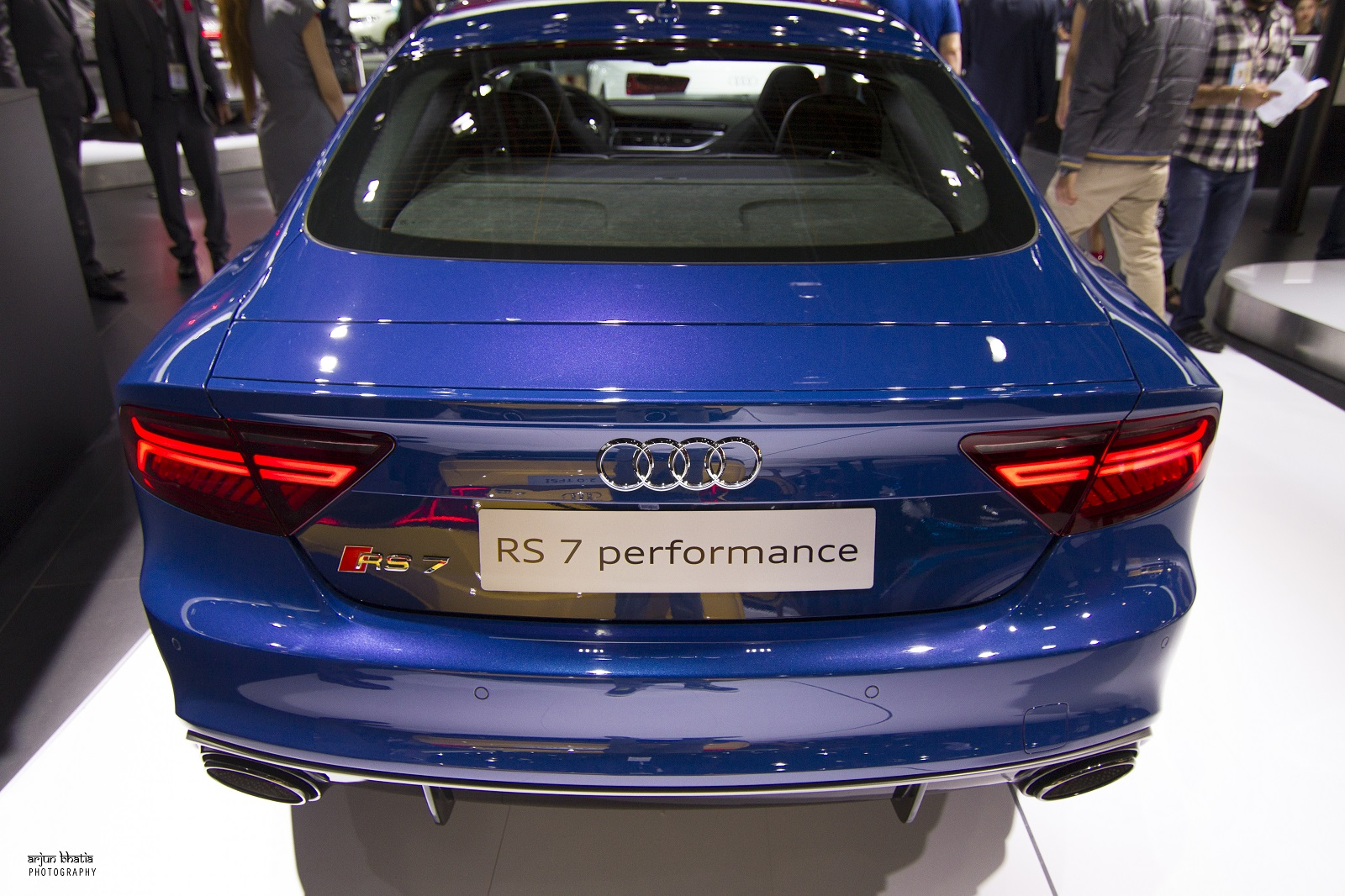 Audi RS7 Performance Delhi Auto Expo 2016 1