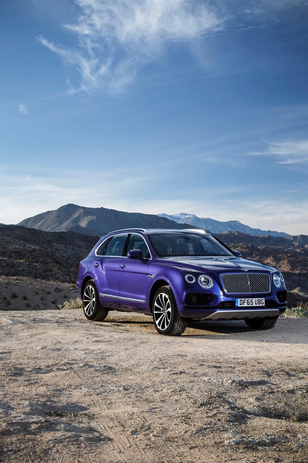 Bentley Bentayga Azure Purple