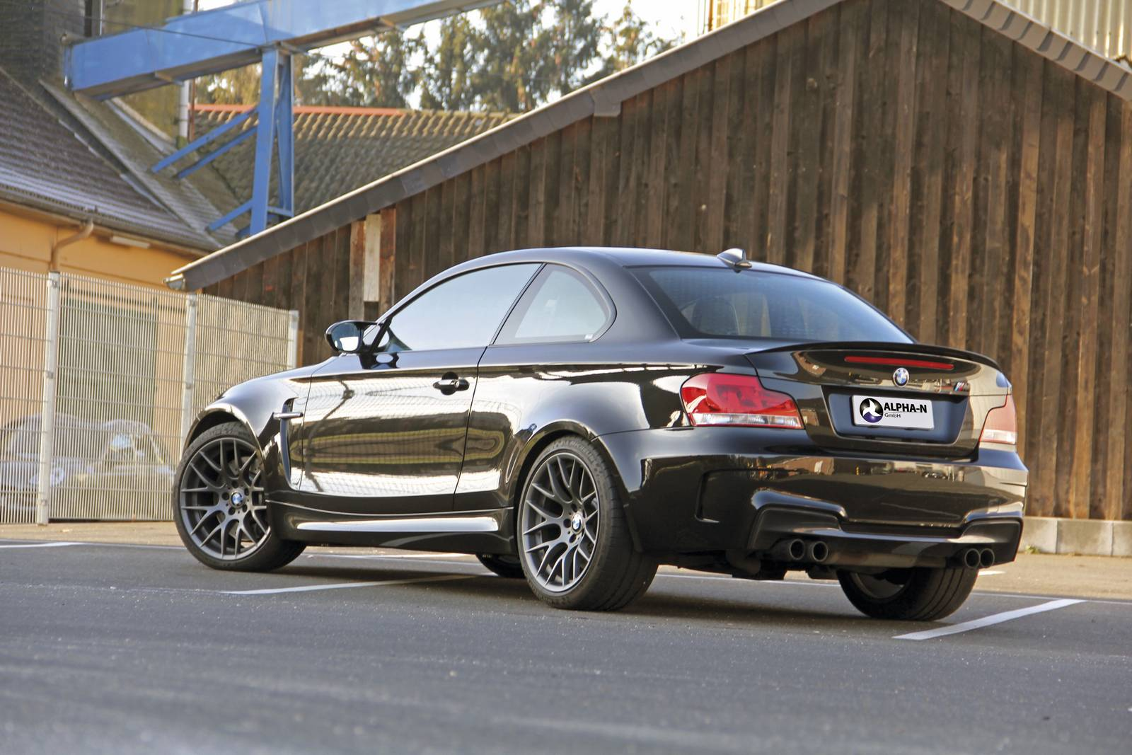 official 564hp bmw 1 series m coupe by alpha n. Black Bedroom Furniture Sets. Home Design Ideas