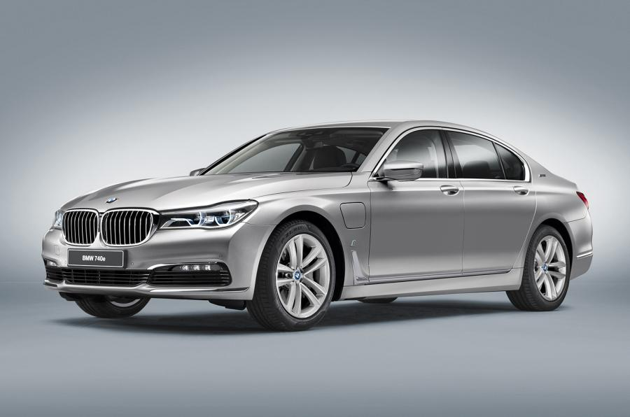 Official: 2017 BMW 740e iPerformance