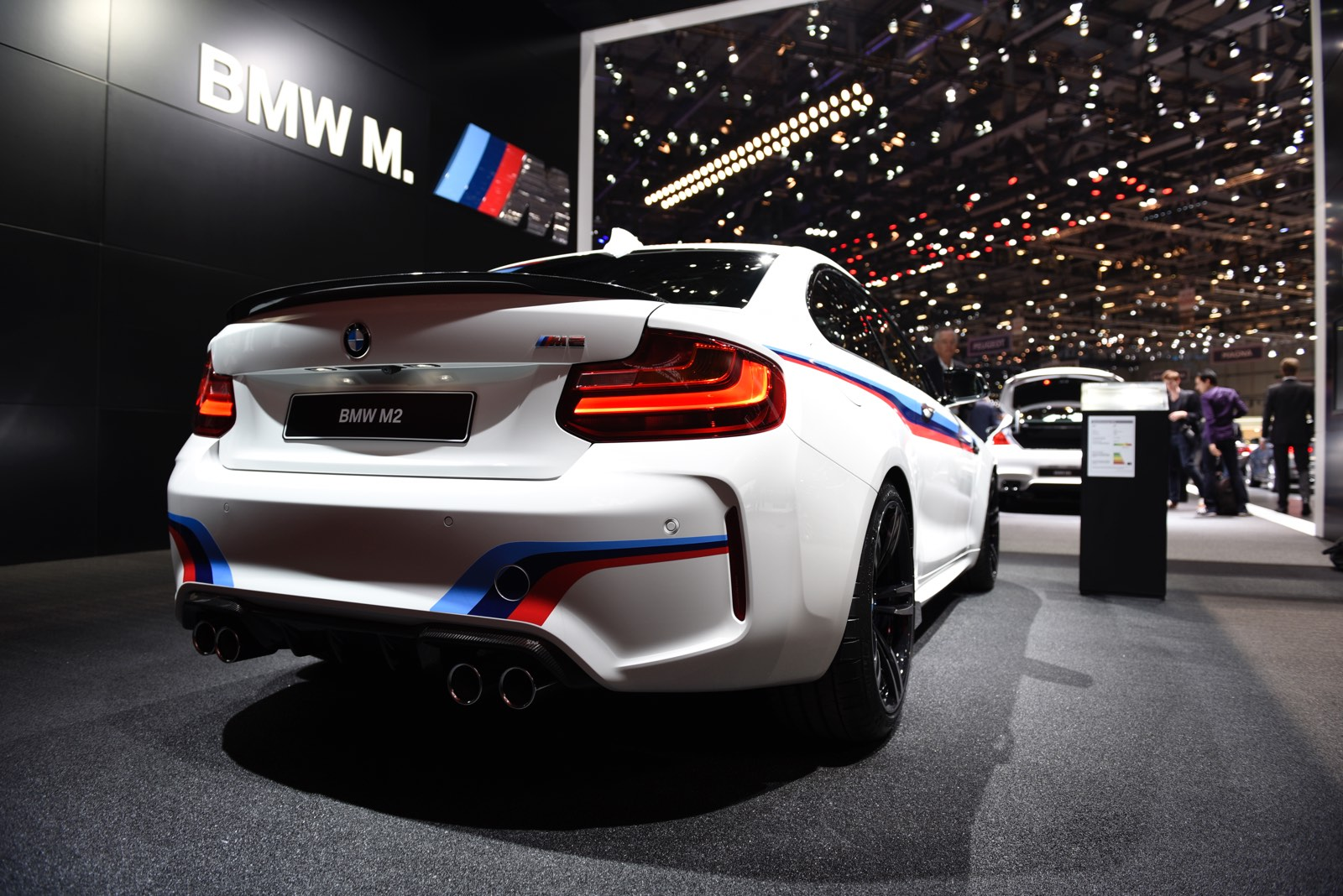 Geneva 2016 Bmw M2 With Bmw M Performance Parts Gtspirit