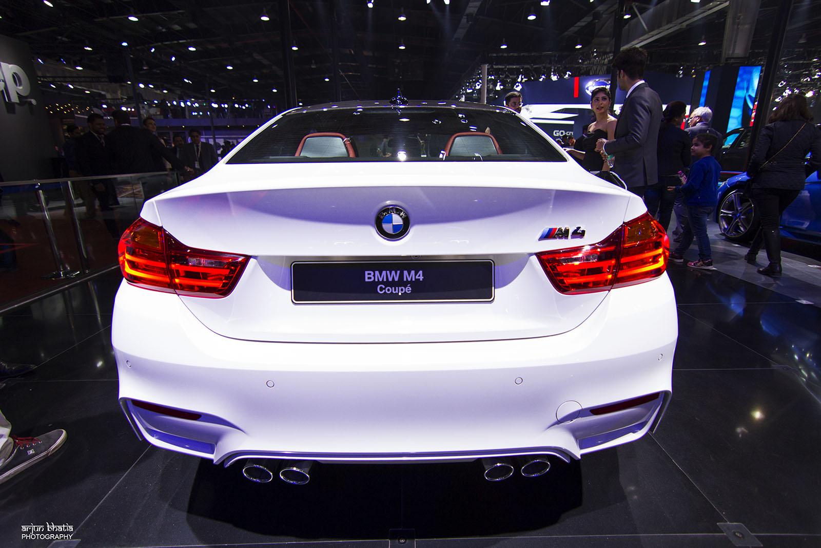 BMW M4 Delhi Auto Expo 2016 1