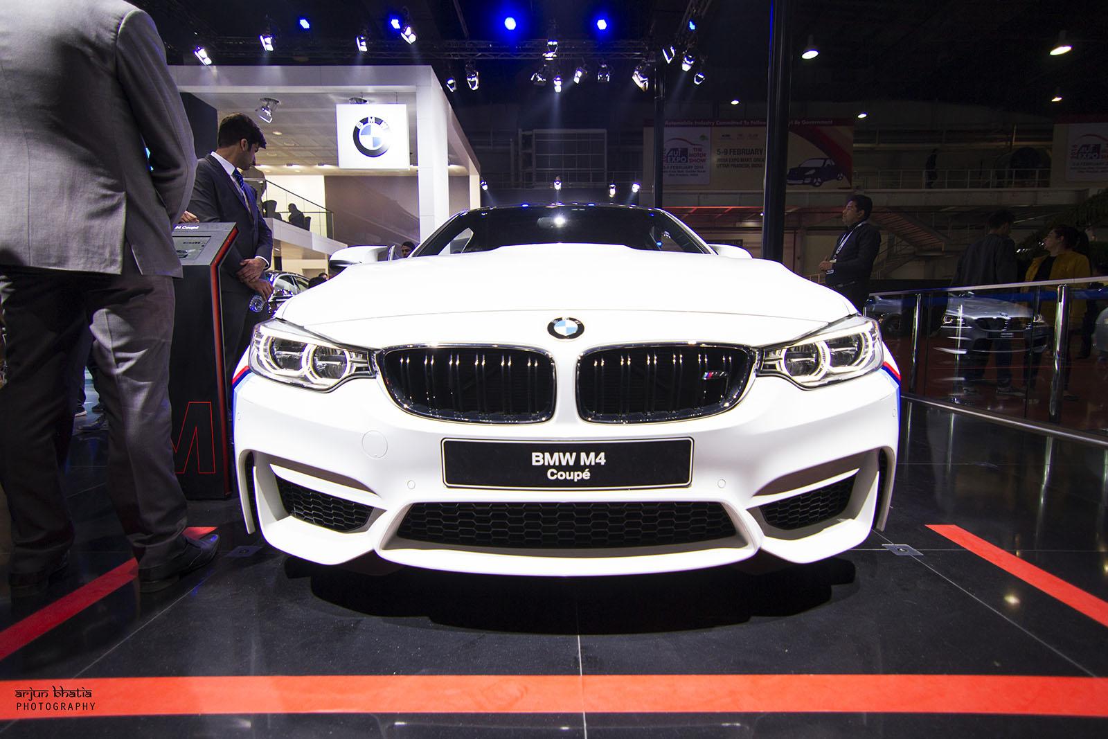 BMW M4 Delhi Auto Expo 2016 2