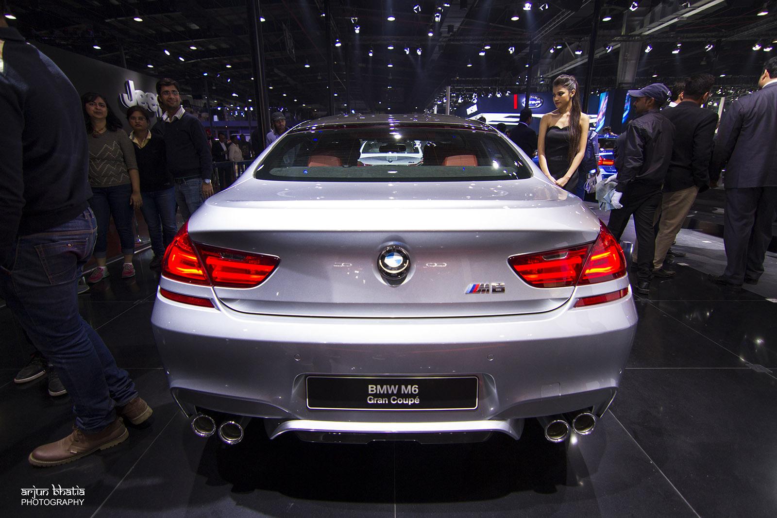 BMW M6 Delhi Auto Expo 2016 1