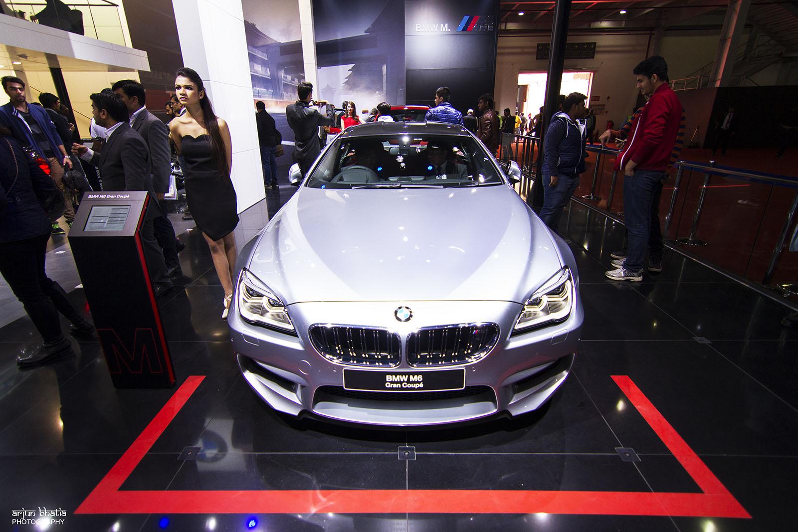 BMW M6 Delhi Auto Expo 2016 2