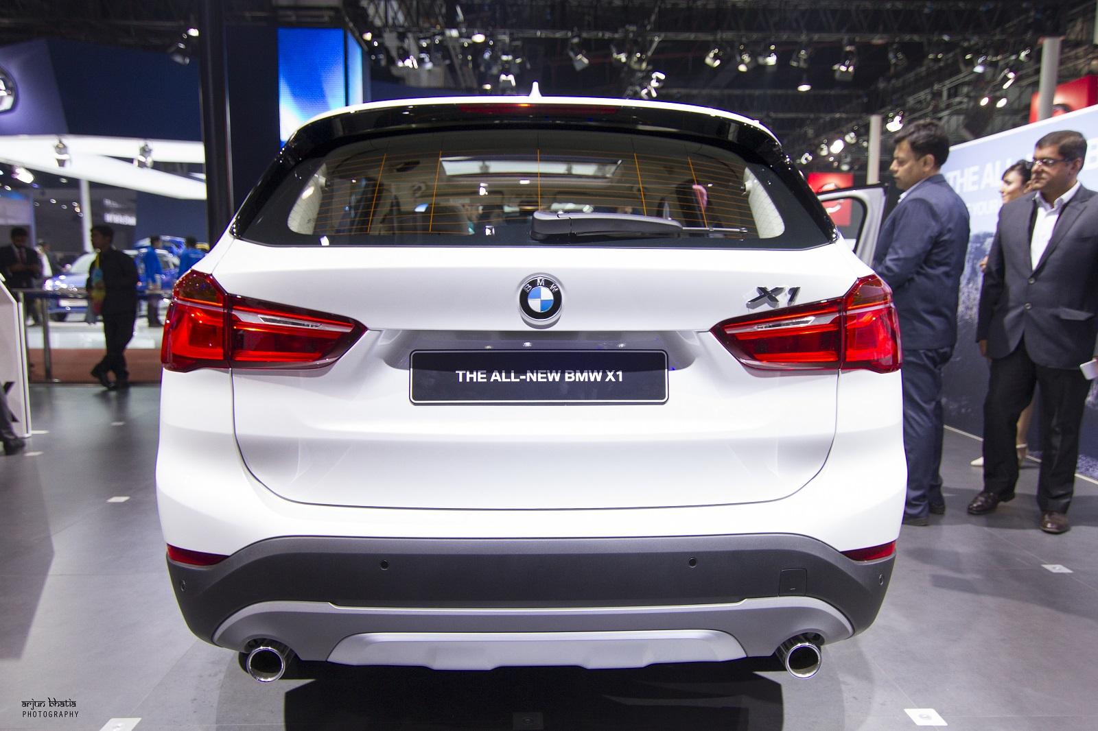 BMW X1 Delhi Auto Expo 2016 1