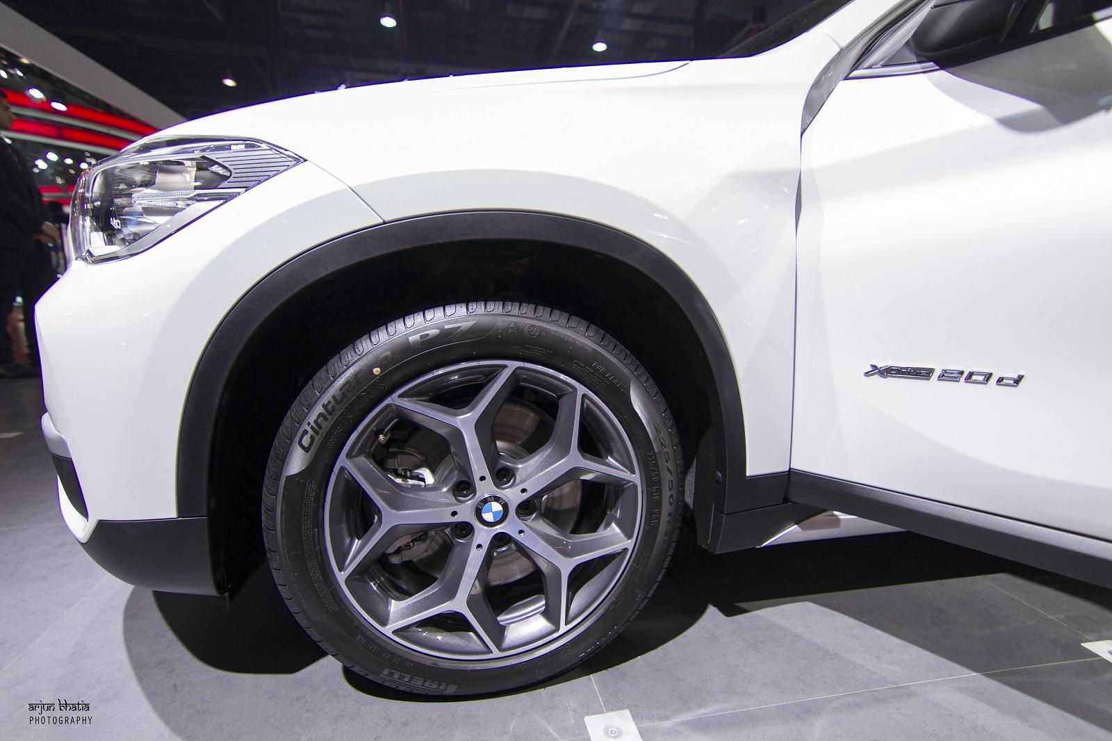 BMW X1 Delhi Auto Expo 2016 2