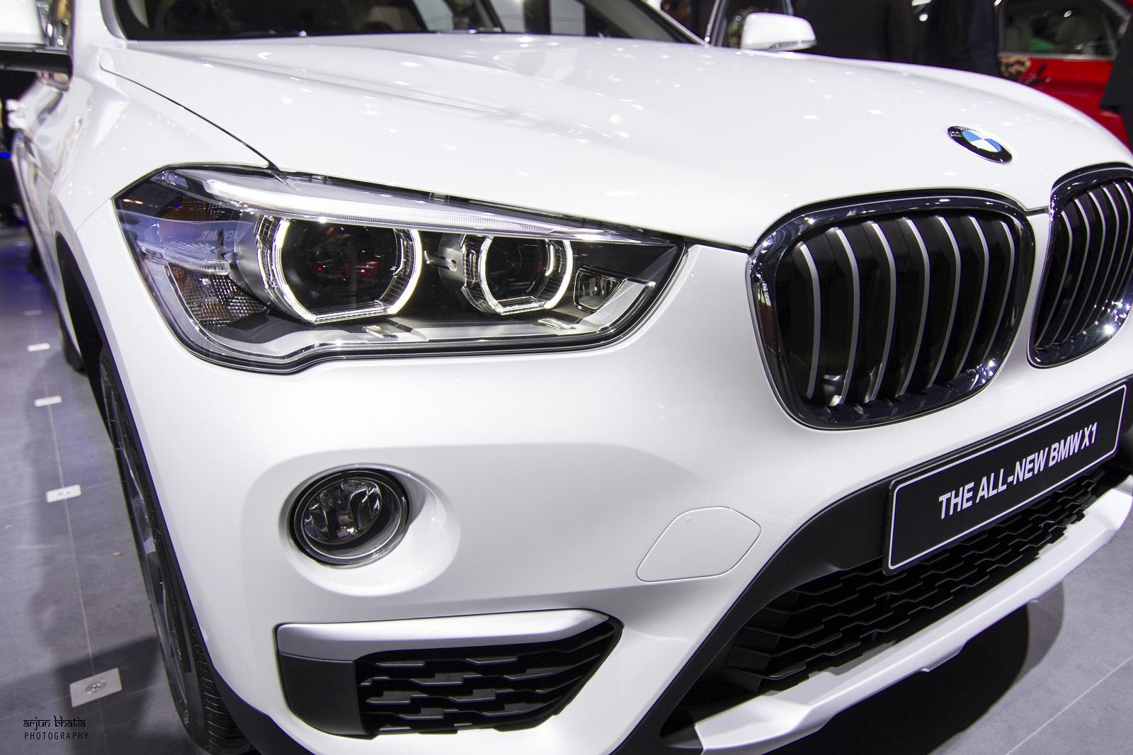 BMW X1 Delhi Auto Expo 2016 4