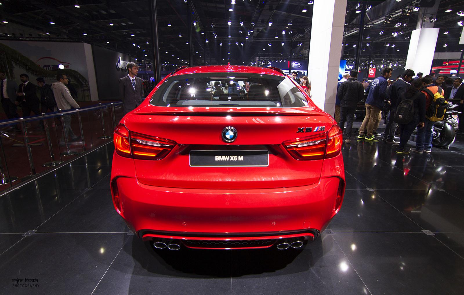 BMW X6 M Delhi Auto Expo 2016 1